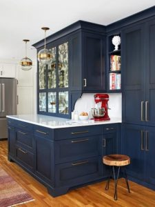 Contemporary kitchen cupboards