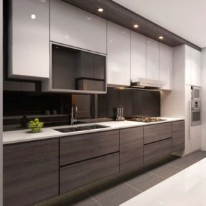 Modern style kitchen design