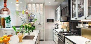 Kitchen with smart technology